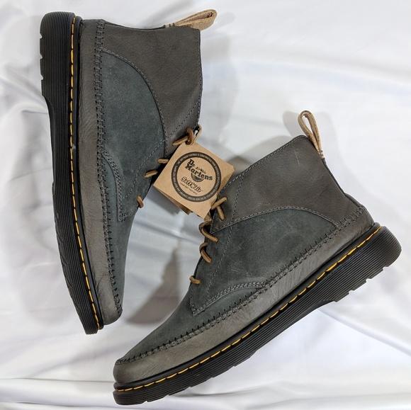 b9913bc647b Dr. Martens Flloyd Gunmetal Boots NWT